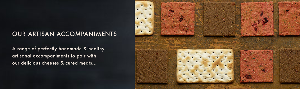 accompaniments-banner-2 Olina's - Cracked Pepper Wafer Crackers (100g)