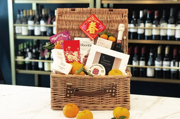 188_s The Cheese Artisans | CNY Auspicious Hamper with Truffle Gouda