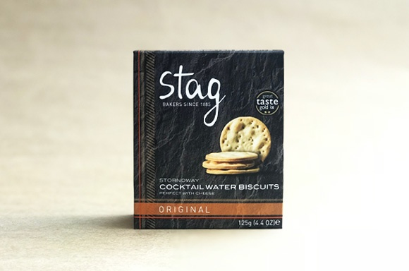 Stag Water Biscuits - Original Cocktail Biscuits (125G)