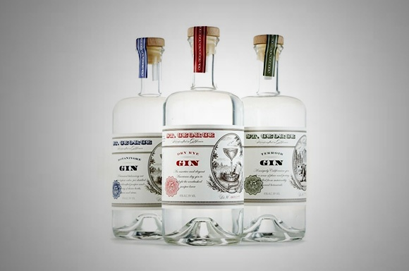 St. George Gin Trio Set